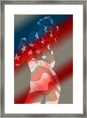 America Framed Print by Tbone Oliver