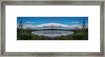 America The Beautiful - Alaska Framed Print by Madeline Ellis