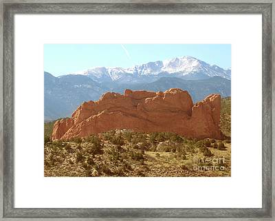 America The Beautiful Framed Print by Cristophers Dream Artistry
