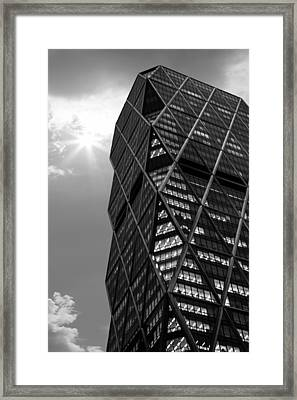 American Architecture Framed Print by Martin Newman
