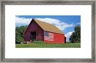 American Barn #2 Framed Print by Nikolyn McDonald