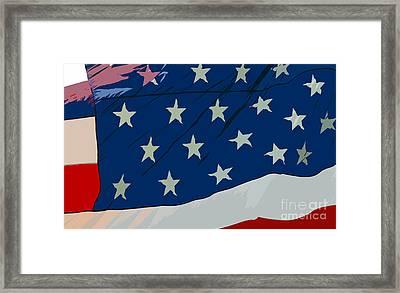 American Beauty Framed Print