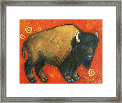 American Bison Framed Print by Carol Suzanne Niebuhr