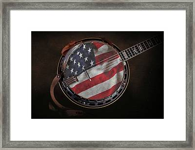 American Bluegrass Music Framed Print by Tom Mc Nemar