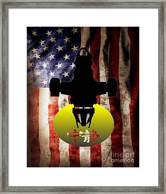American Brown Coats Framed Print by Justin Moore
