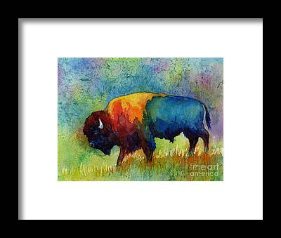 Buffalo Framed Prints