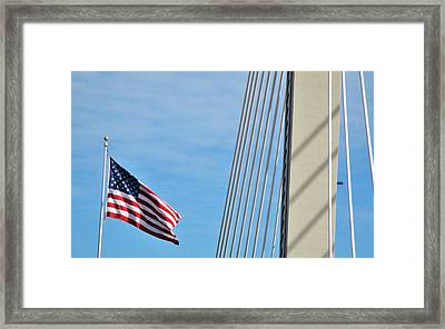 American Afternoon Framed Print