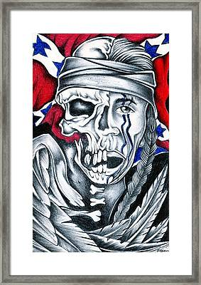 American Cherokee Confederacy Framed Print by Brian S