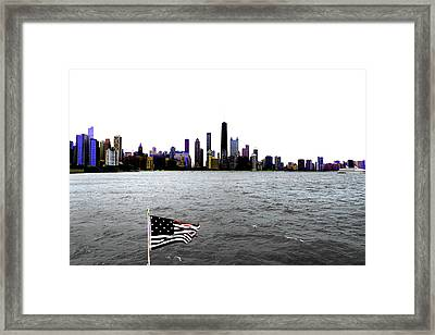 American Chi 3 Framed Print