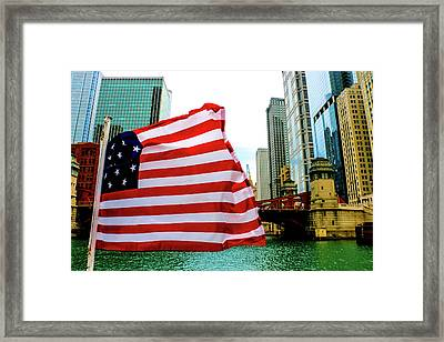 American Chi Framed Print