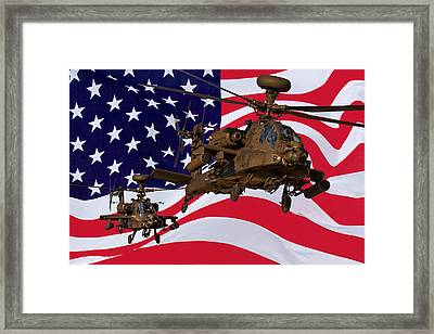 American Choppers Framed Print