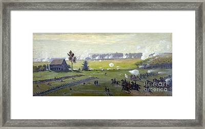 American Civil War, Battle Framed Print by Science Source
