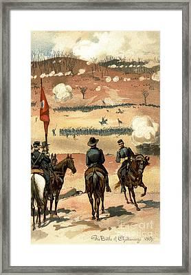American Civil War, Chattanooga Framed Print