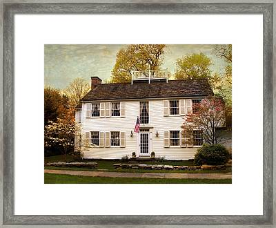 American Colonial Framed Print by Jessica Jenney