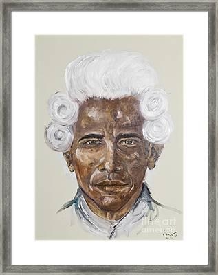 American Dream Framed Print by Heather Goldstein