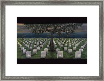 American Dream Pricetag Framed Print by Antonio Ortiz