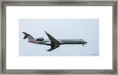 American Eagle N545pb Airplane Art Framed Print