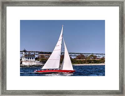 American Eagle Newport Ri Framed Print