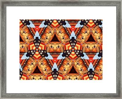 American Elections 2016 Framed Print