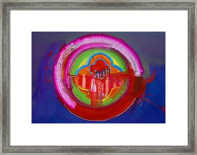 Framed Print featuring the painting American Evangelical by Charles Stuart