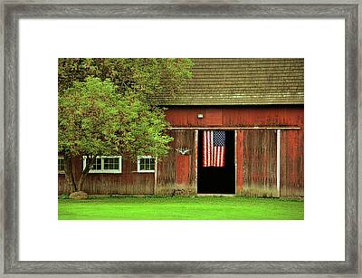 American Farm Framed Print by JAMART Photography