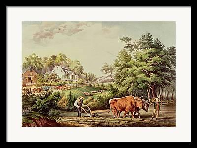 1813-98 Framed Prints