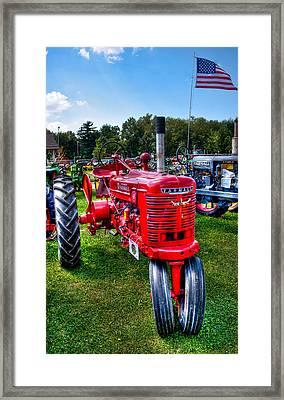 American Farmall Framed Print