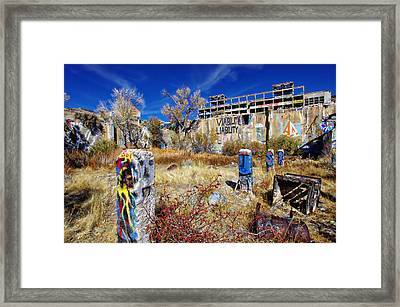 Framed Print featuring the photograph American Flat Mill Vc by Scott McGuire