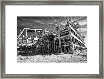 American Flat Mill Virginia City Nevada Framed Print