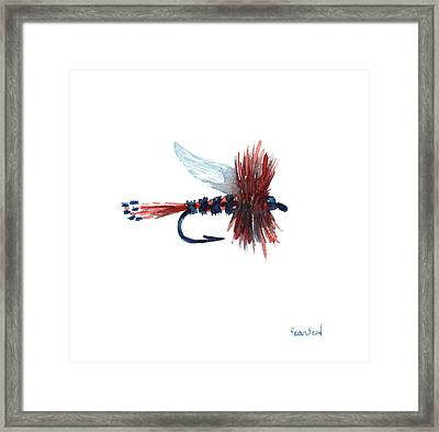 American Fly Framed Print by Sean Seal