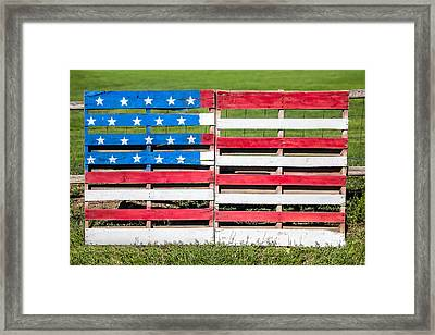 American Folk Art Framed Print by Todd Klassy