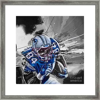 American Football 6710k Framed Print