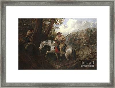 American Frontier Life Framed Print by Arthur Fitzwilliam Tait