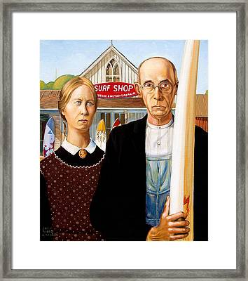 American Gothic - Amadeus Series Framed Print by Dominique Amendola