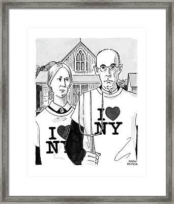 American Gothic Framed Print
