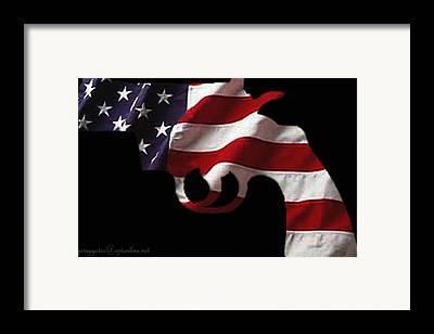 Guns Photographs Framed Prints