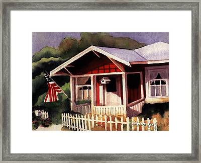 American Home Framed Print by Patricia Halstead