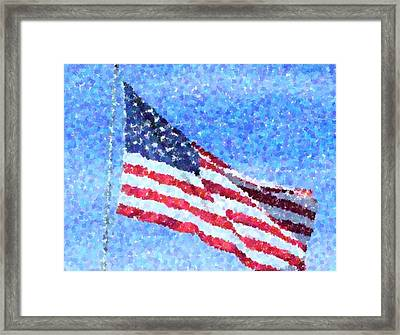 American Honor Framed Print