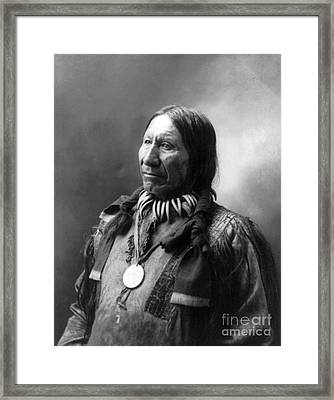 American Horse, Oglala Lakota Indian Framed Print by Science Source