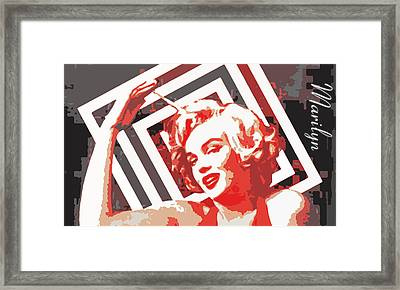 American Icon # 1 Framed Print by Coconut Lime Design