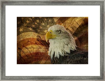 American Icons Framed Print by Susan Candelario