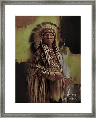 American Indian  Framed Print