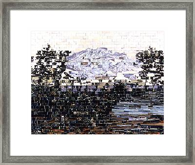 American Landscape After Frances Framed Print
