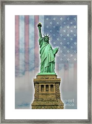 American Liberty Framed Print by Timothy Lowry