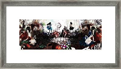 American Mcgee's Alice Framed Print