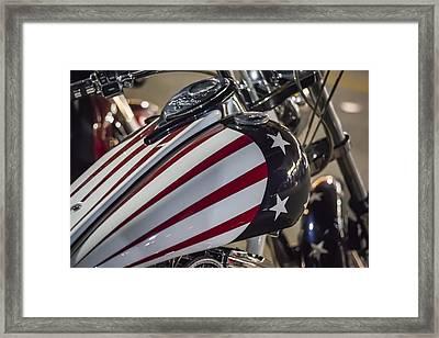 American Motorcycle Framed Print