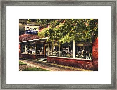 American Nostalgia Framed Print