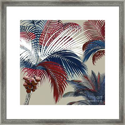 American Palm Framed Print by Mindy Sommers