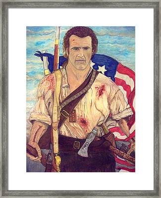 American Patriot Framed Print by Jose Cabral