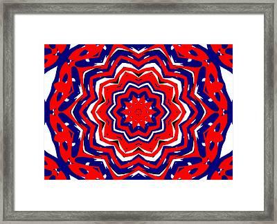 Kaleidoscope 5555 Framed Print
